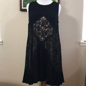 Torrid black sleeveless A line dress